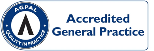 We are now officially an AGPAL Accredited Practice!