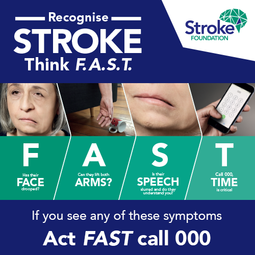 Free Health Checks at Your Health Hub for National Stroke Week 2017