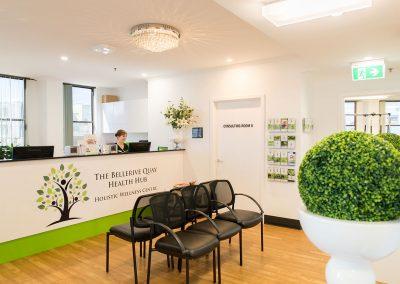 your health hub reception