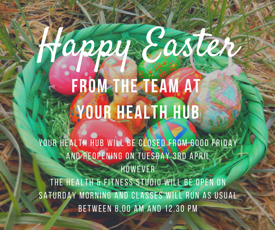 HAPPY EASTER FROM THE TEAM AT YOUR HEALTH HUB