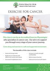 Your Health Hub Exercise For Cancer
