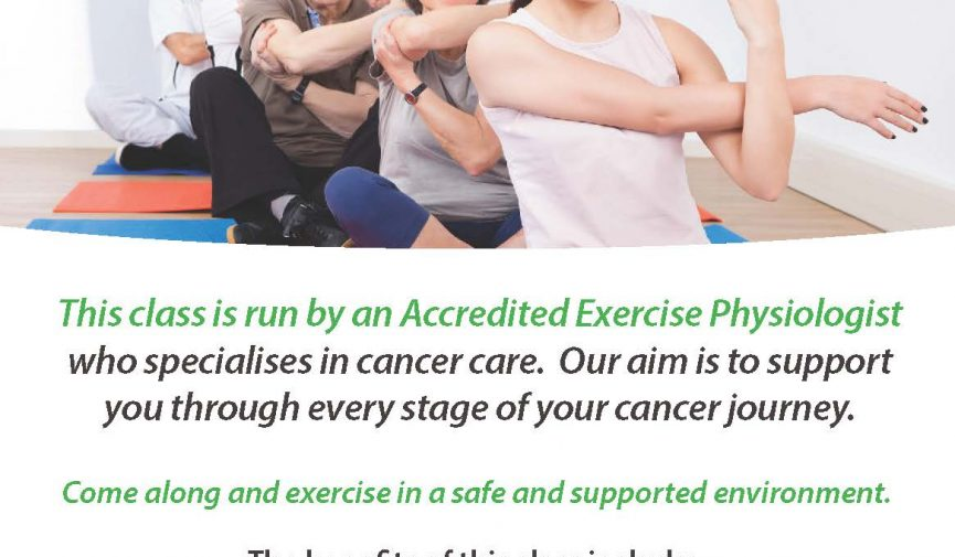 Your Health Hub Exercise For Cancer Program
