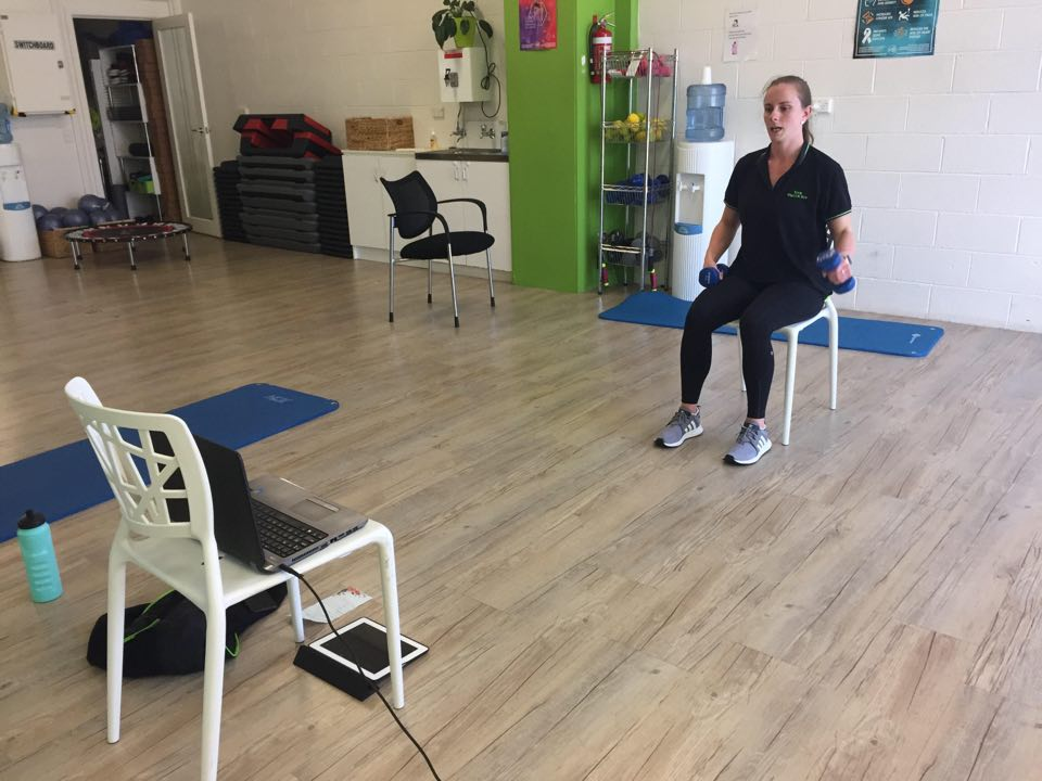 Home-based Exercise at Your Health Hub