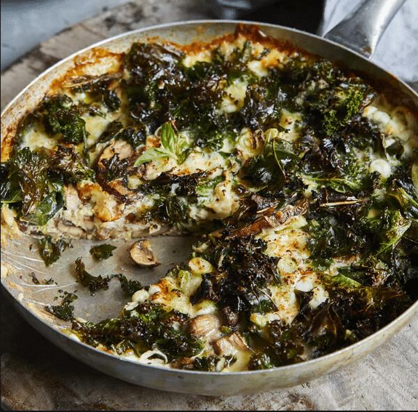 Coeliac Awareness Week Recipe: Gluten-Free Mushroom & Kale Frittata