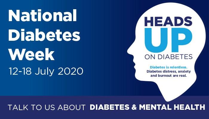 National Diabetes Week Poster 2020