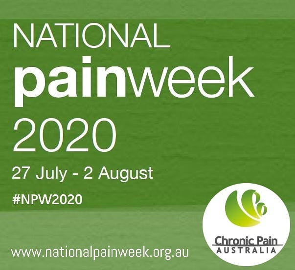National Pain Week 2020 poster
