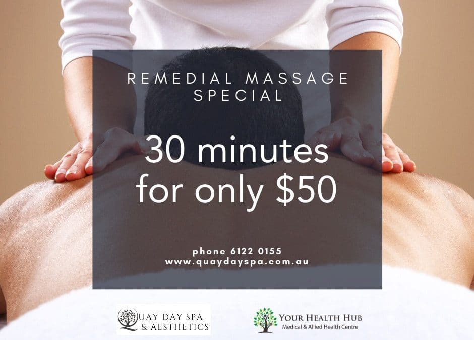 Remedial Massage Now Available