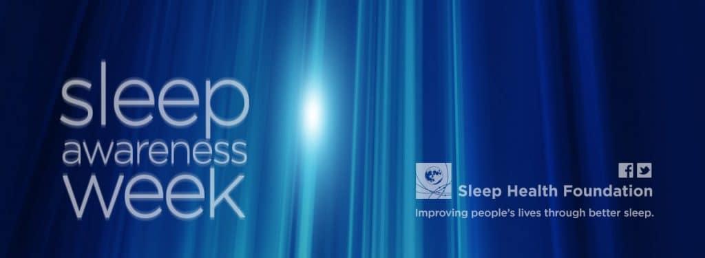 Sleep Awareness Week Banner