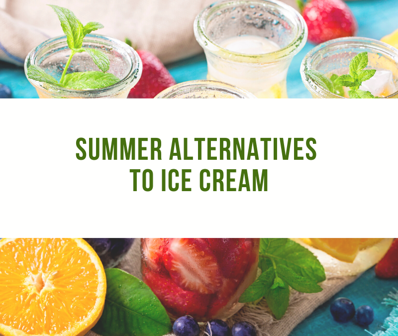 Summer Alternatives to Ice Cream from Dietitian