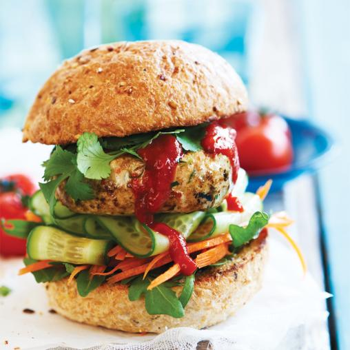 Dietitian's Pick: Turkey, Chilli & Coriander Burgers