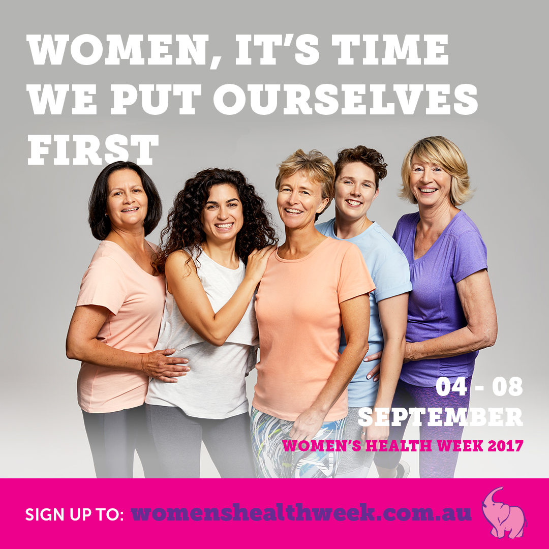 WOMENS HEALTH WEEK 4-8 SEPTEMBER 2017