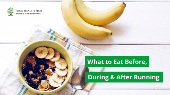 What to Eat Before, During and After Long-distances Running
