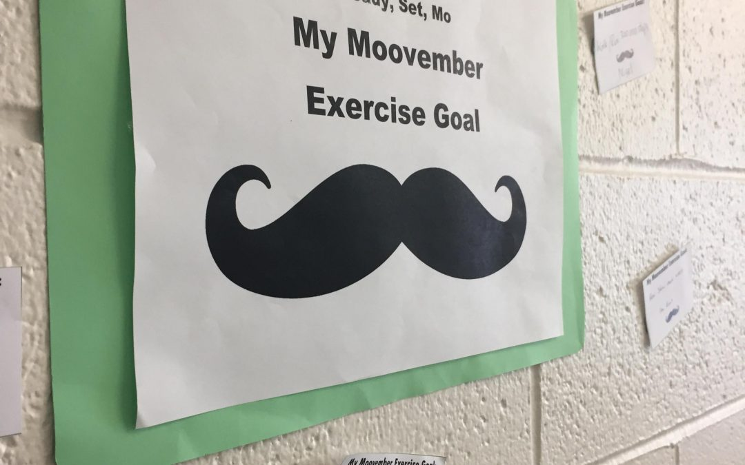Set your Movember goal this month with Your Health Hub