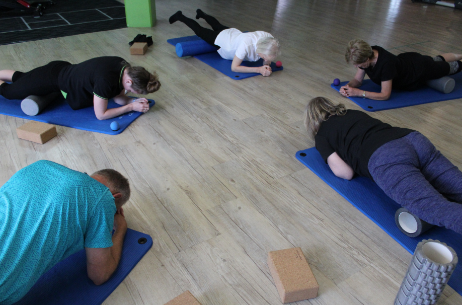 stretch and trigger class at your health hub