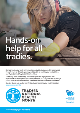 Tasmanian tradies need to look after the most valuable part of their toolkit – their health!
